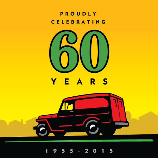 Celebrating 60 years of business!