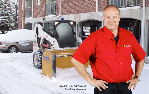 Martin Horsman  joined company.