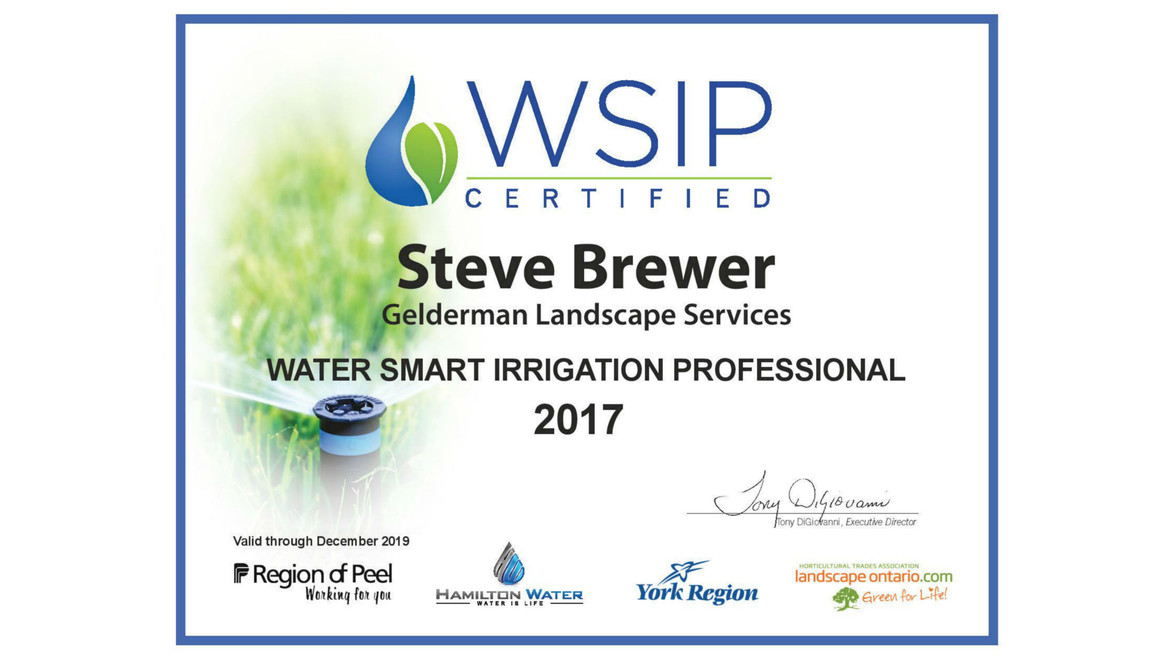 Steve Brewer – Our Very Own Water Smart Irrigation Professional!