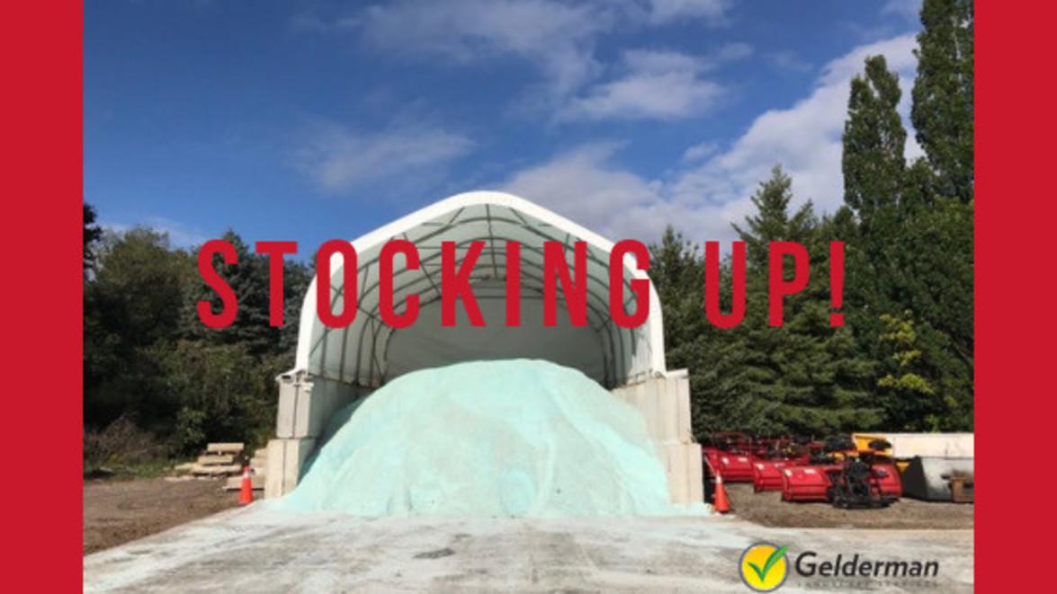 Salt Update: Stocking Up!